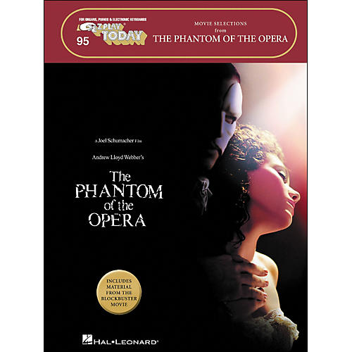 Hal Leonard The Phantom Of The Opera Movie Selections E-Z Play 95