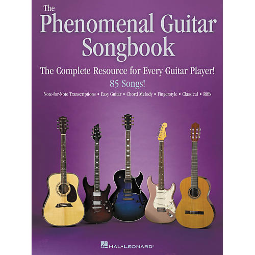 Hal Leonard The Phenomenal Guitar Tab Songbook-thumbnail