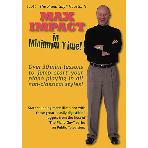 Hal Leonard The Piano Guy Max Impact In Minimum Time DVD-thumbnail