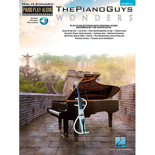 Hal Leonard The Piano Guys - Wonders Piano Play-Along Volume 131 Book/Online Audio-thumbnail