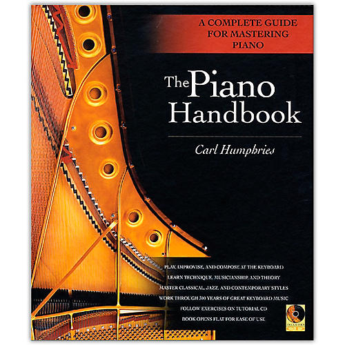 Backbeat Books The Piano Handbook - A Complete Guide for Mastering Piano (Hardcover Book/Online Audio)-thumbnail