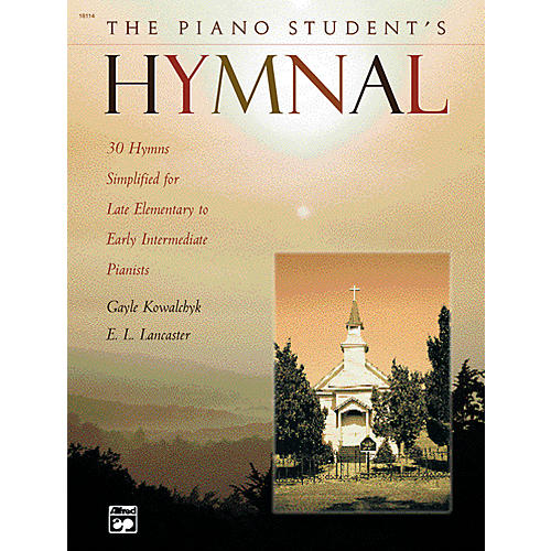 Alfred The Piano Student's Hymnal