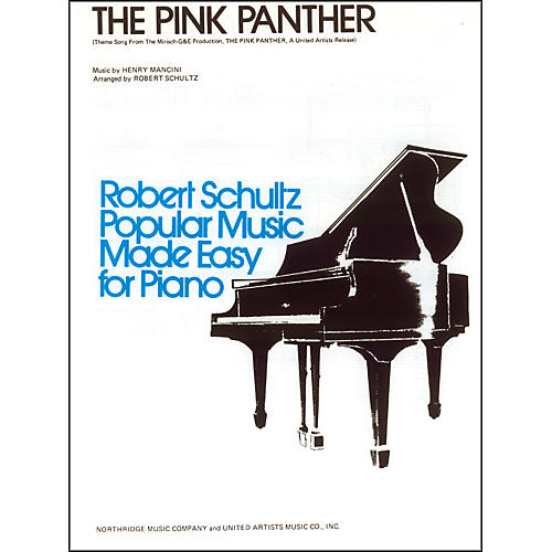 Alfred The Pink Panther Early Intermediate Piano Sheet-thumbnail