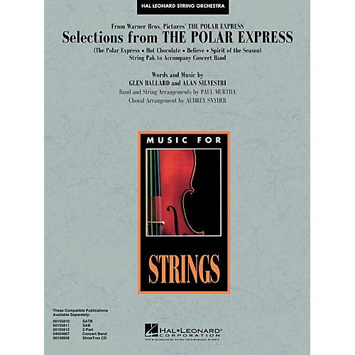 Hal Leonard The Polar Express Score & Parts Arranged by Audrey Snyder