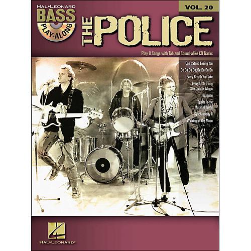 Hal Leonard The Police - Bass Play-Along Volume 20 (Book/CD)