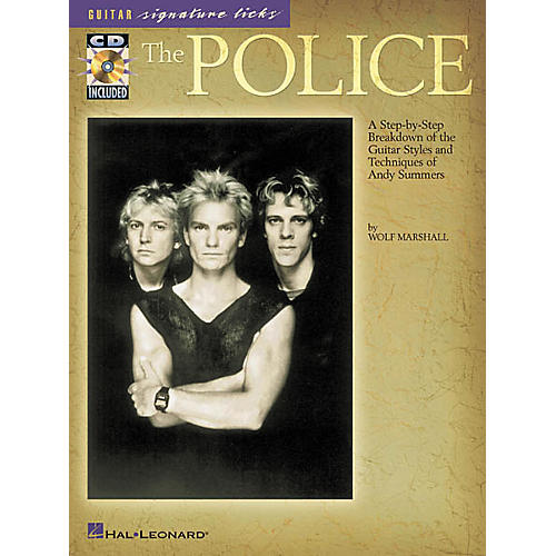 Hal Leonard The Police Guitar Signature Licks Book with CD-thumbnail