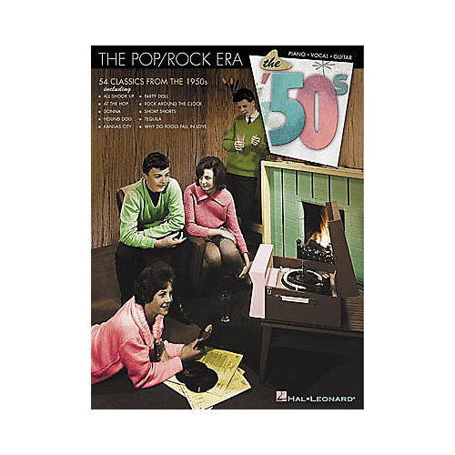 Hal Leonard The Pop/Rock Era: The '50s Songbook-thumbnail