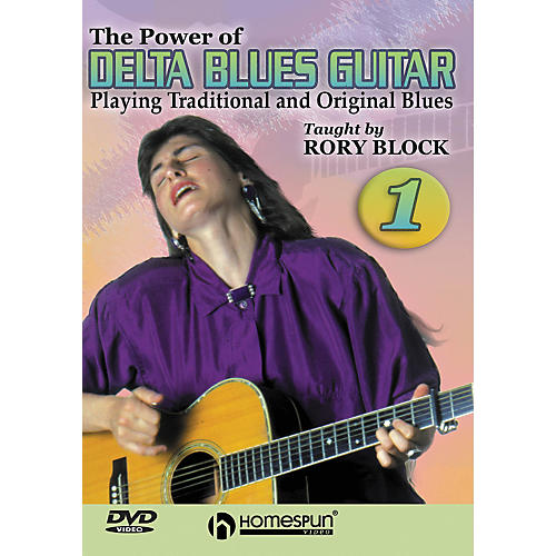 Homespun The Power of Delta Blues Guitar 1 (DVD)