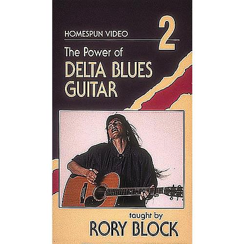 Homespun The Power of Delta Blues Guitar 2 (VHS)-thumbnail