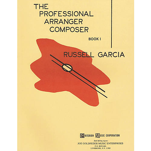Criterion The Professional Arranger Composer - Book 1 Criterion Series Softcover Written by Russell Garcia