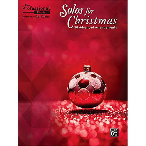 Alfred The Professional Pianist: Solos for Christmas Advanced-thumbnail