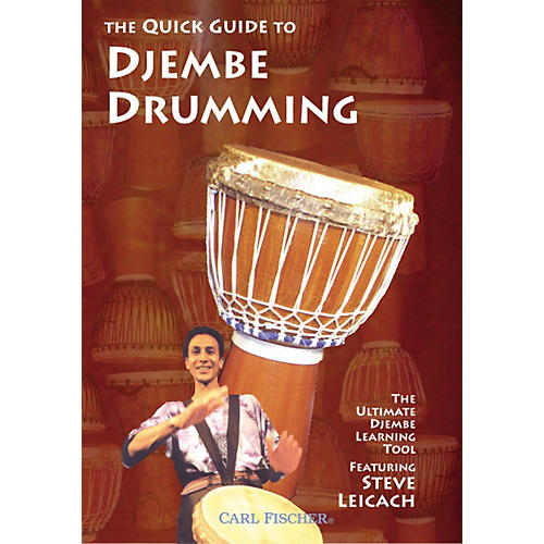 Carl Fischer The Quick Guide to Djembe Drumming (DVD)