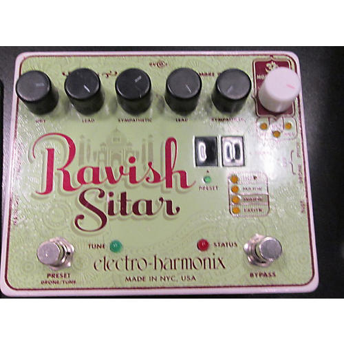 Electro-Harmonix The Ravish Sitar Synthesizer Effect Pedal