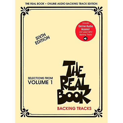 Hal Leonard The Real Book Play-Along Volume 1 (Sixth Edition) Audio Online-thumbnail