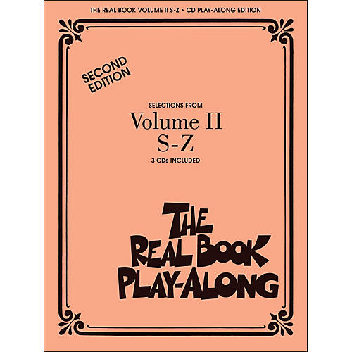 Hal Leonard The Real Book Play Along Volume 2 S-Z (3-CD Pack)-thumbnail