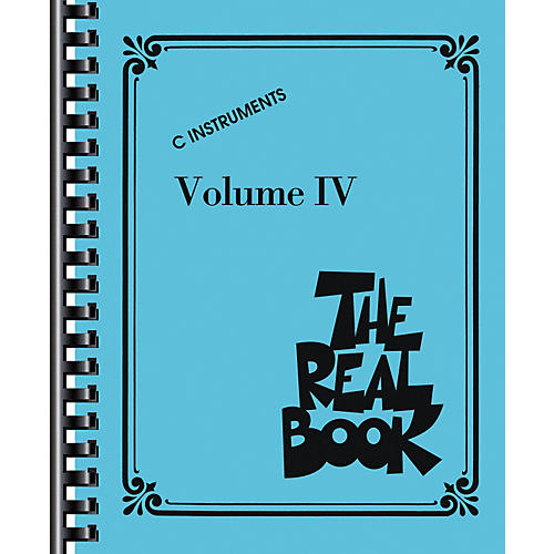 Hal Leonard The Real Book Volume 4 (C Edition) - Fake Book-thumbnail