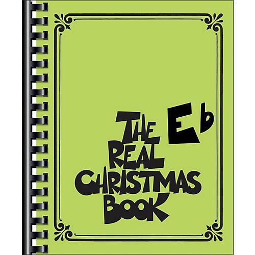 Hal Leonard The Real Christmas Book E Flat Edition-thumbnail