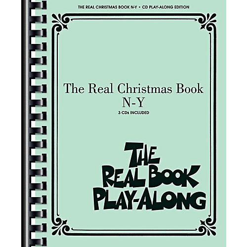 Hal Leonard The Real Christmas Book Play Along N-Y Book/3 CD Pack-thumbnail