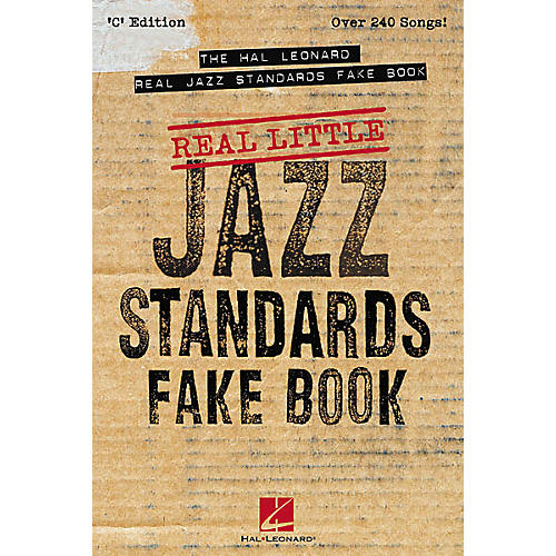 Hal Leonard The Real Little Real Jazz Standards (Fake Book)-thumbnail