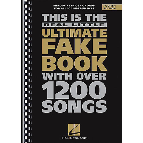 Hal Leonard The Real Little Ultimate Fake Book – 4th Edition – C Edition-thumbnail