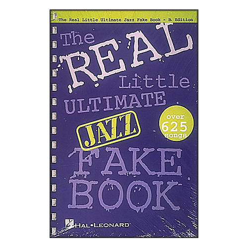 Hal Leonard The Real Little Ultimate Jazz Fake Book B Flat Edition-thumbnail