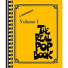 Hal Leonard The Real Pop Book Volume 1 - Real Book Series
