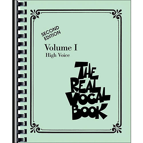 Hal Leonard The Real Vocal Book Volume 1 High Voice-thumbnail