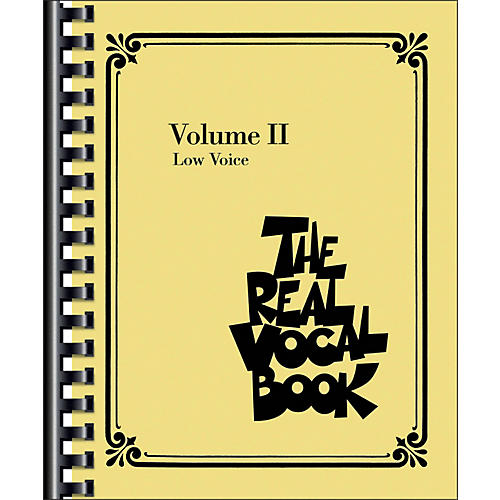 Hal Leonard The Real Vocal Book Volume 2 Low Voice