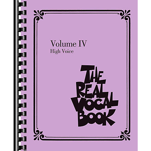 Hal Leonard The Real Vocal Book Volume 4 (IV) - High Voice Fake Book-thumbnail