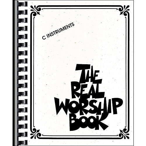 Hal Leonard The Real Worship Book - Fake Book-thumbnail