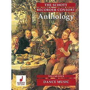 Schott The Recorder Anthology - Volume 4 Schott Series by Various Arranged ... by Schott