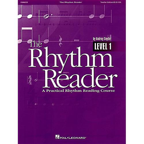 Hal Leonard The Rhythm Reader - A Practical Rhythm Reading Course Reproducible Pak-thumbnail