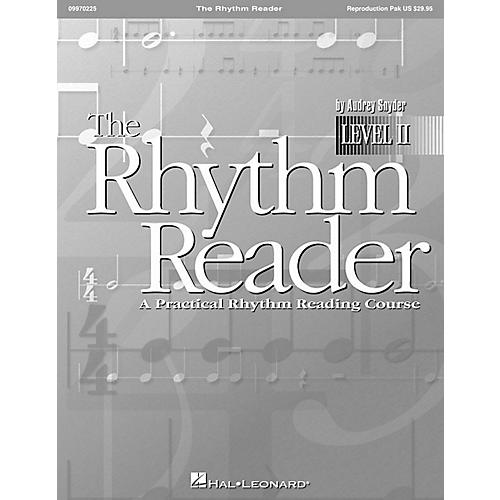 Hal Leonard The Rhythm Reader II - A Practical Rhythm Reading Course Reproducible Pak-thumbnail