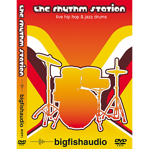 Big Fish The Rhythm Station Sample Library DVD