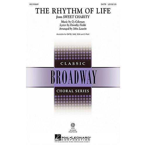 Hal Leonard The Rhythm of Life (from Sweet Charity) SAB Arranged by John Leavitt