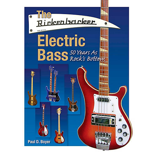 Hal Leonard The Rickenbacker Electric Bass - 50 Years As Rock's Bottom-thumbnail