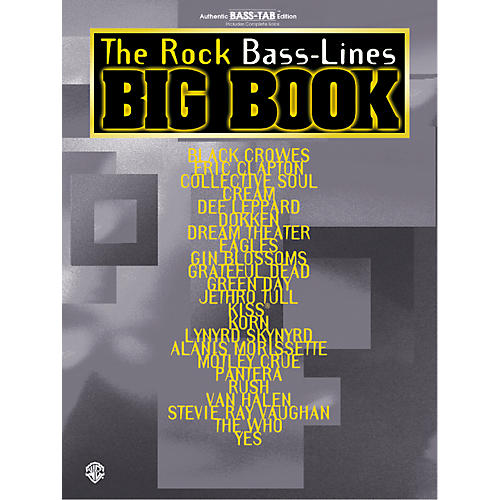 Alfred The Rock Bass-Lines Big Book