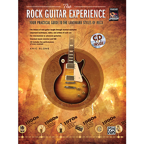 Alfred The Rock Guitar Experience (Book/CD)-thumbnail