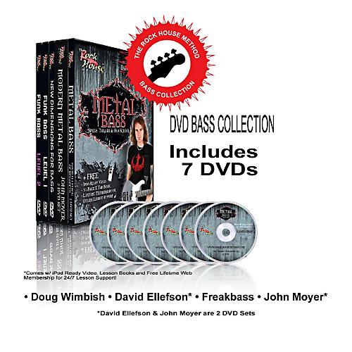 Hal Leonard The Rock House Method - Bass DVD Collection