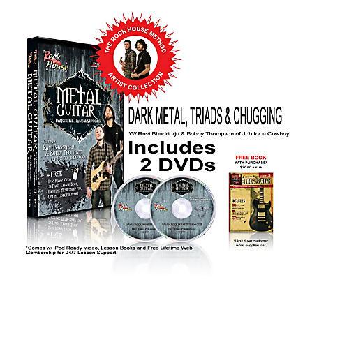 Hal Leonard The Rock House Method - Job For A Cowboy DVD Collection-thumbnail