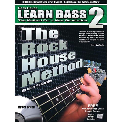 Rock House The Rock House Method - Learn Bass Guitar Book 2 (Book/CD)-thumbnail