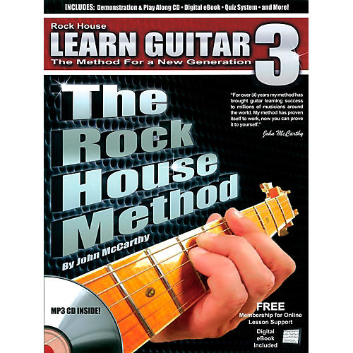 Rock House The Rock House Method - Learn Guitar Book 3 (Book/CD)-thumbnail
