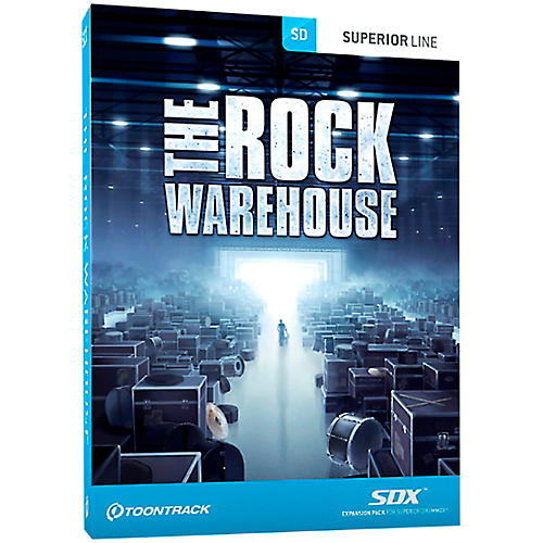 Toontrack The Rock Warehouse SDX Expansion Pack