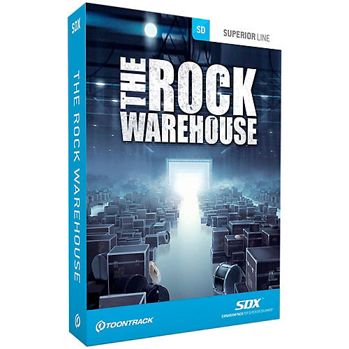 Toontrack The Rock Warehouse SDX-thumbnail