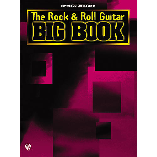 Alfred The Rock and Roll Gultar Big Book