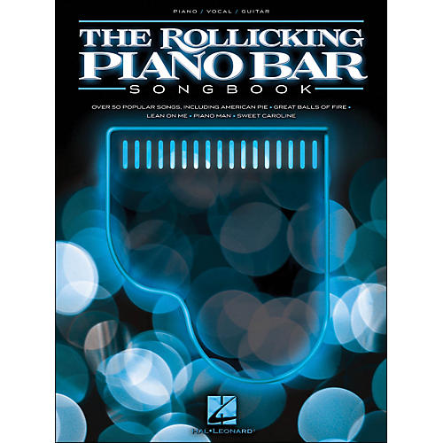 Hal Leonard The Rollicking Piano Bar Songbook arranged for piano, vocal, and guitar (P/V/G)-thumbnail