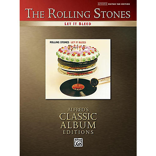 Alfred The Rolling Stones - Let It Bleed Guitar TAB Book-thumbnail