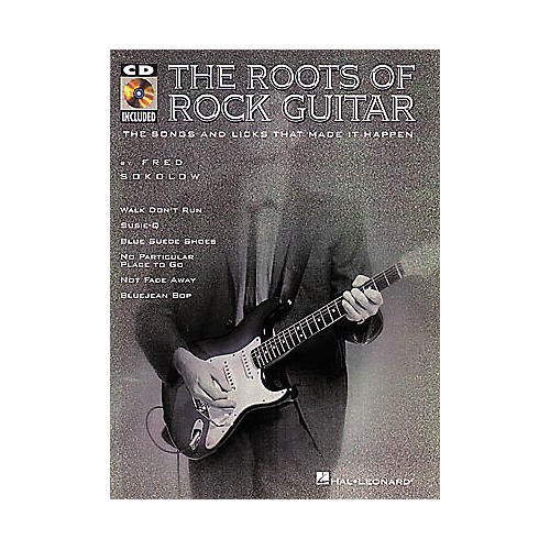 Hal Leonard The Roots of Rock Guitar (Book/CD)-thumbnail