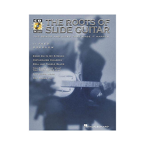 Hal Leonard The Roots of Slide Guitar (Book/CD)-thumbnail