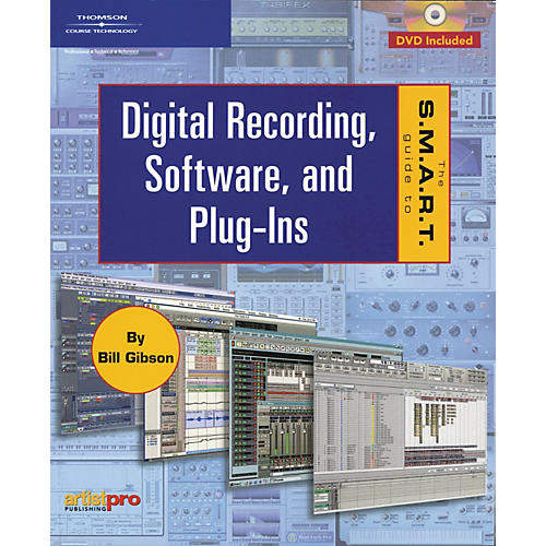 Course Technology PTR The S.M.A.R.T. Guide to Digital Recording Software and Plug-ins (Book and DVD Package)-thumbnail